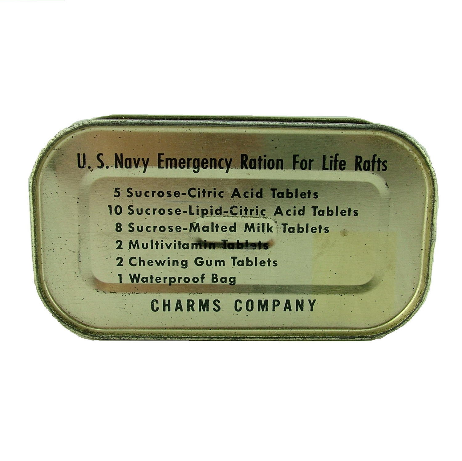USN Emergency ration for life rafts