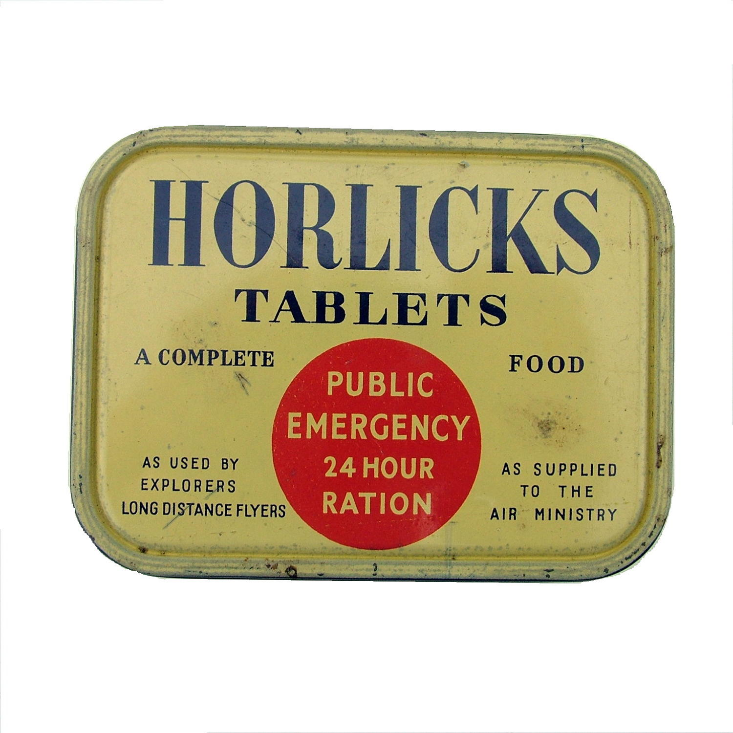 Horlicks 24 Hour ration tin