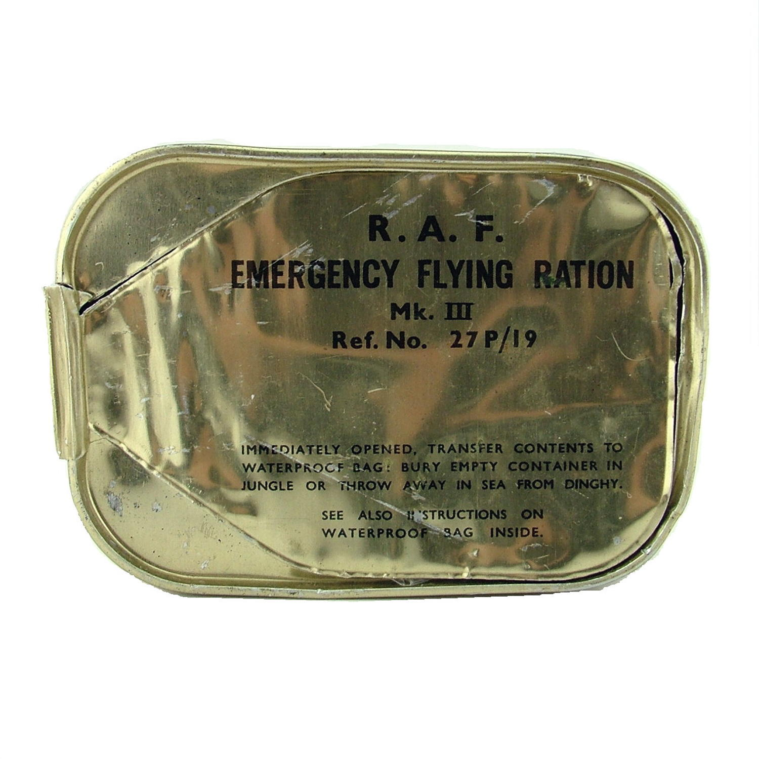 RAF Emergency flying ration, Mk.III