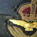 RAF officer rank service dress cap - picture 7