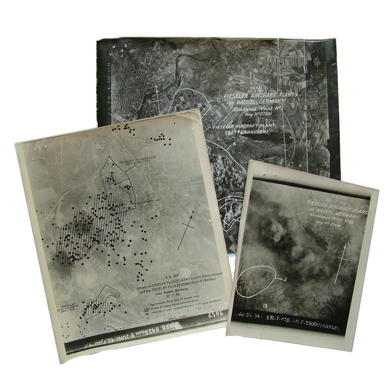 Air Ministry German target photographs