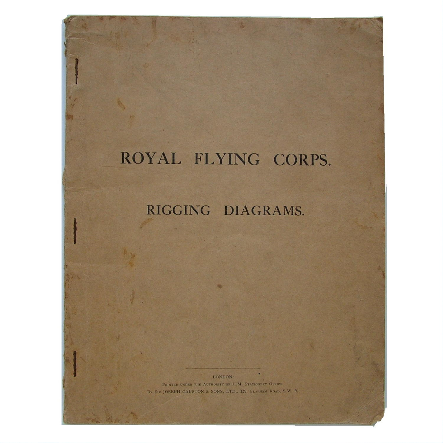 Royal Flying Corps rigging diagrams