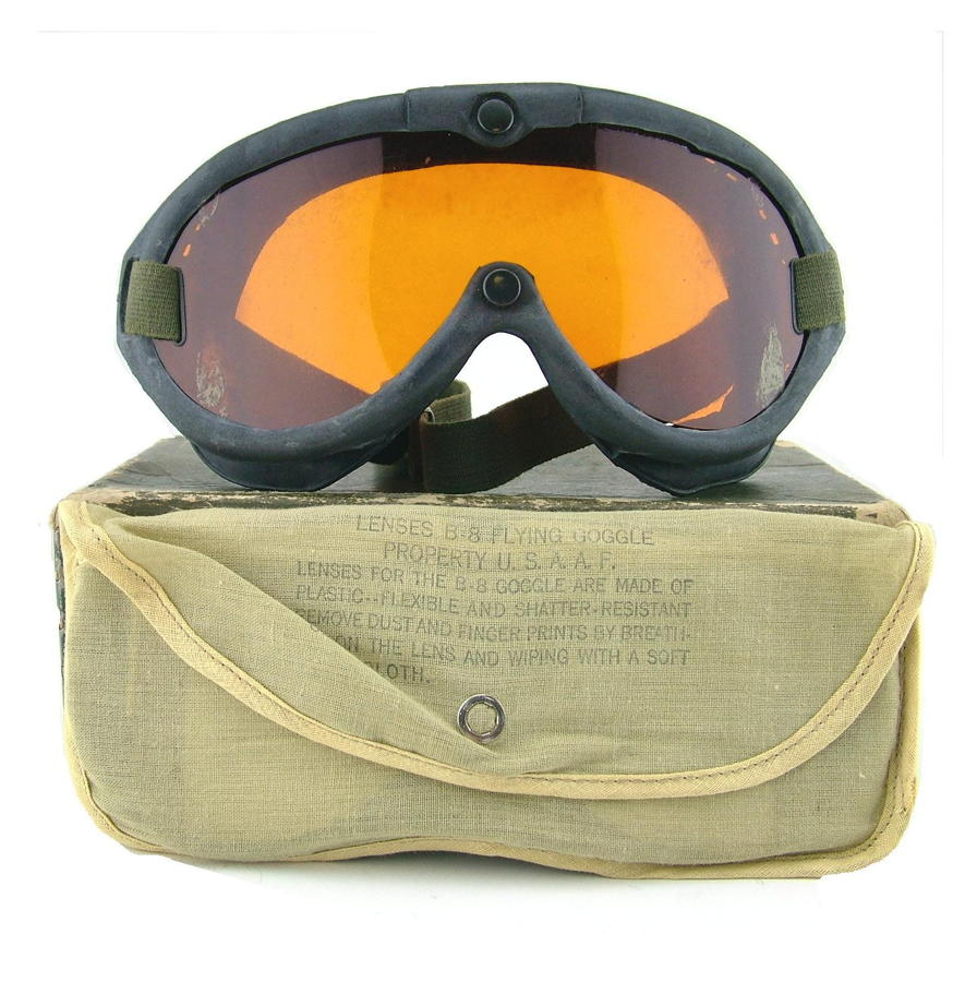 USN Goggles, M-1944, Type B-8, boxed