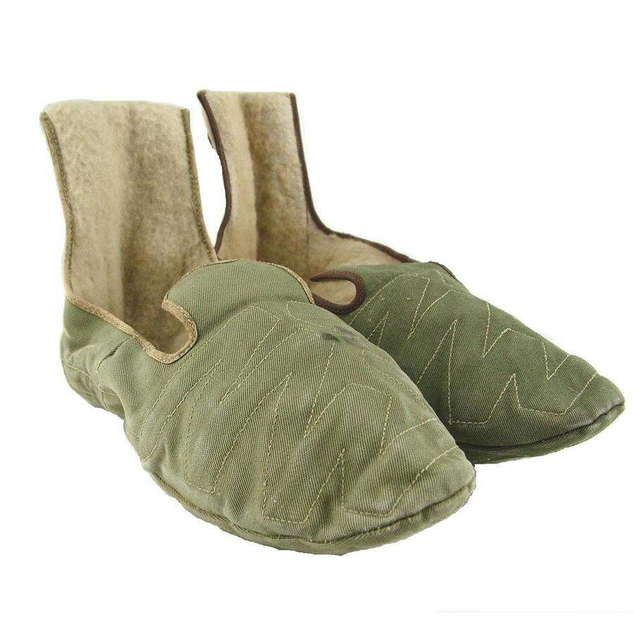 RAF electrically heated socks