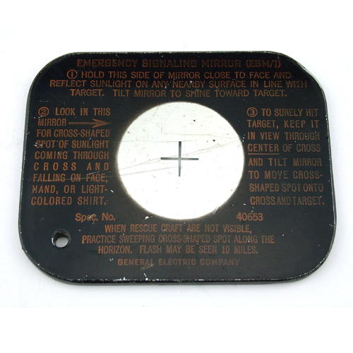 USAAF ESM-1 emergency signalling mirror