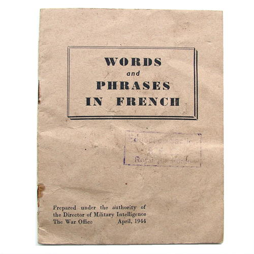 War Office - words & phrases in French