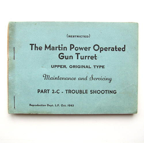 The Martin power operated gun turret manual