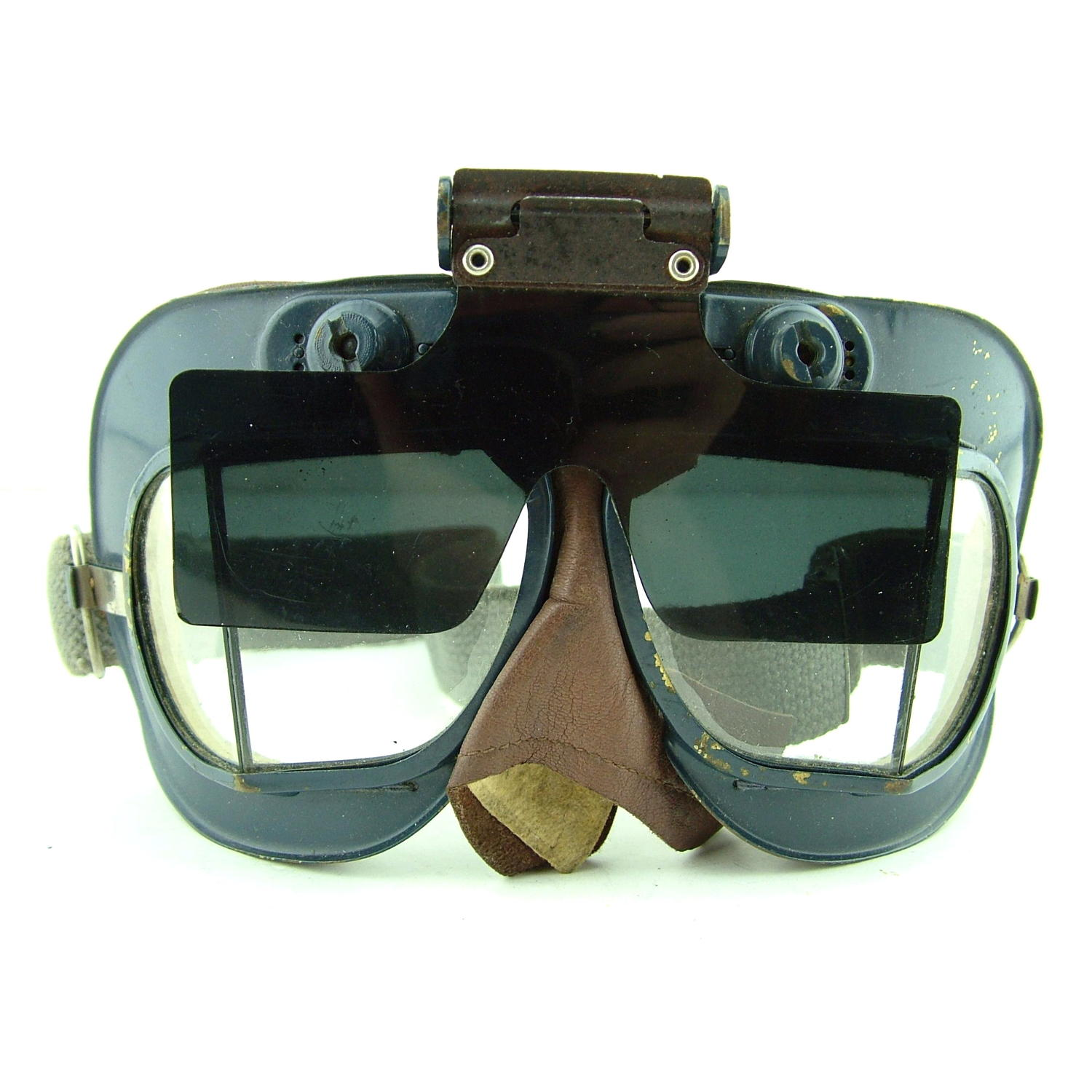 RAF Mk.VII flying goggle anti-glare shield