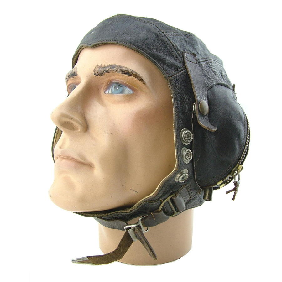 RN / FAA C-type flying helmet, early patt.