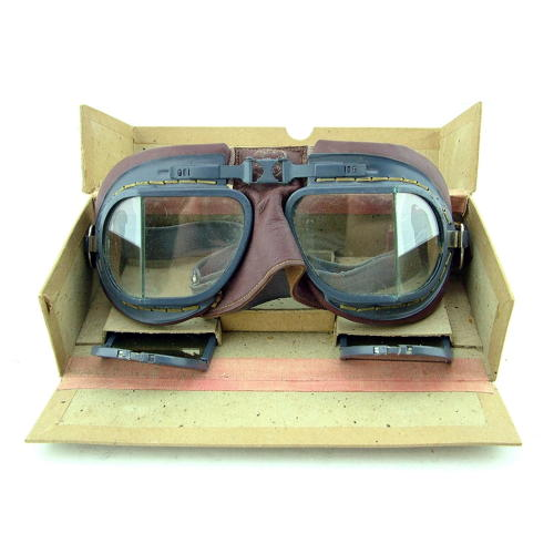RAF MK.VIII flying goggles, boxed