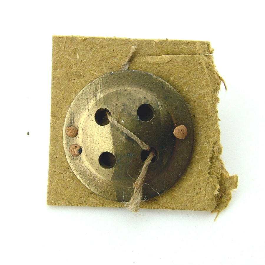 RAF / SOE fly button compass