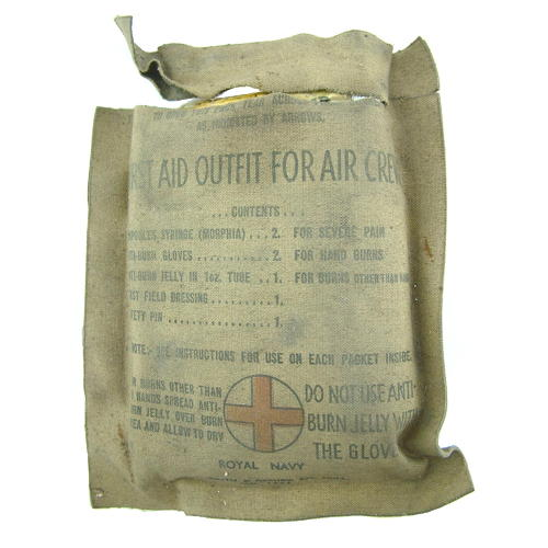 FAA First aid outfit for aircrews