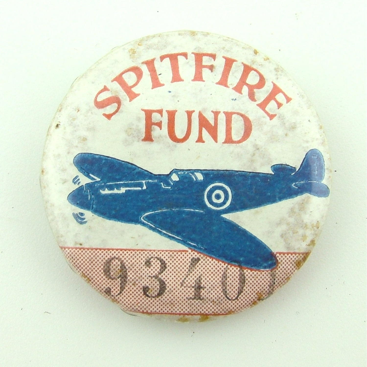 WW2 Spitfire fund badge