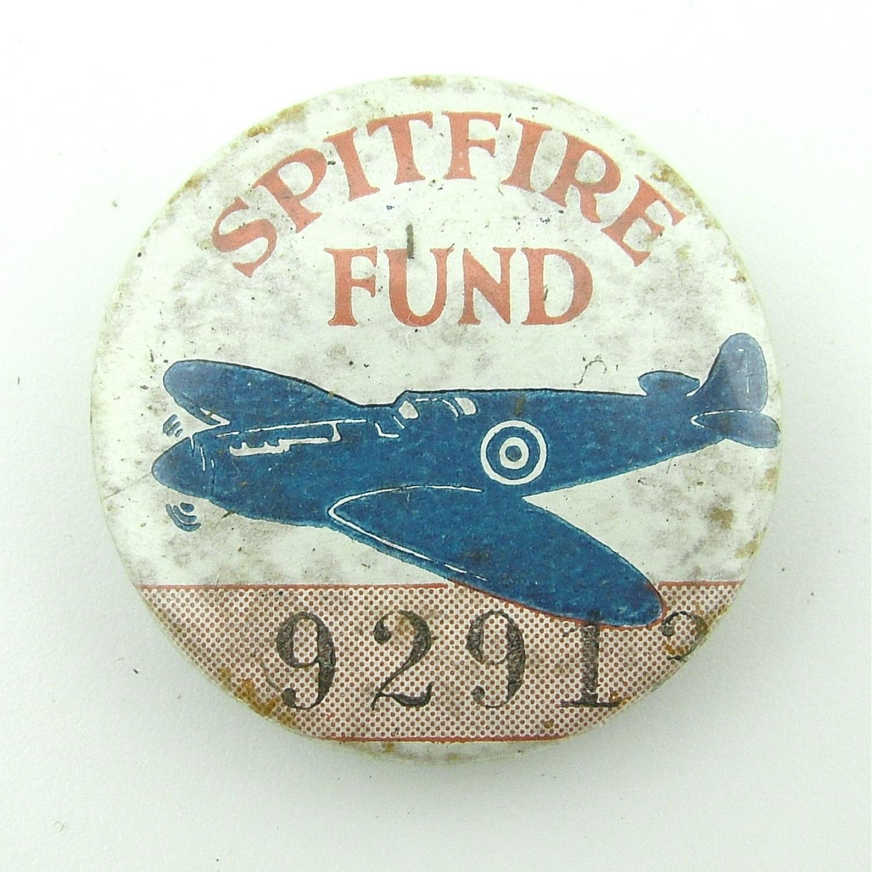 WW2 Spitfire fund badge