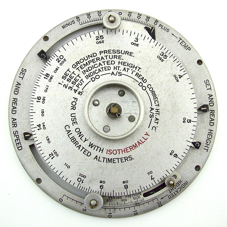 RAF computor, height and air speed, Mk.1