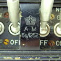 RAF Lancaster bomber magneto switches/gate - picture 6