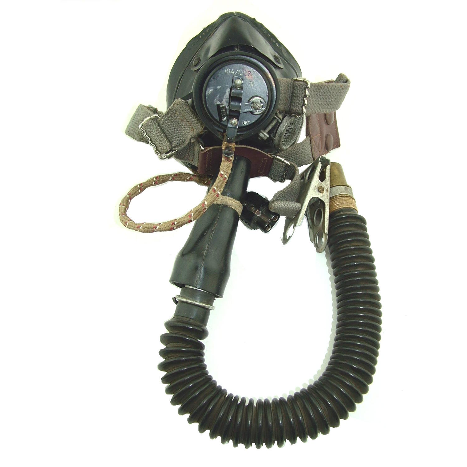 RAF type E* oxygen mask/tube