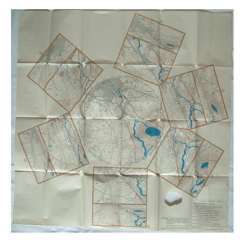 RAF target map - Berlin