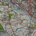 Luftwaffe/German forces map of Glasgow - picture 6
