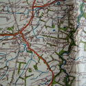 Luftwaffe/German forces map of Glasgow - picture 8