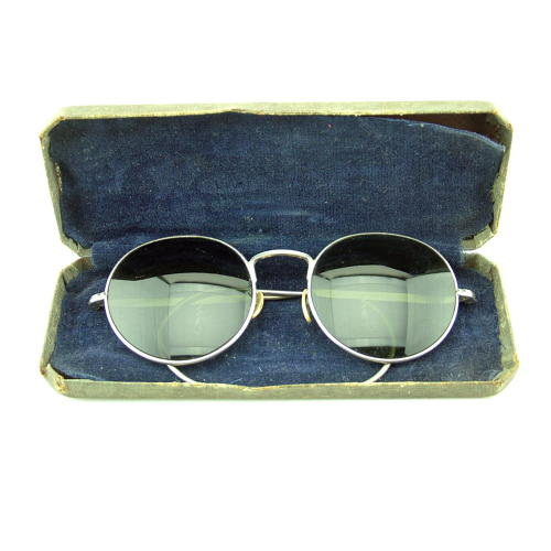 RAF MK.VIII flying spectacles, cased