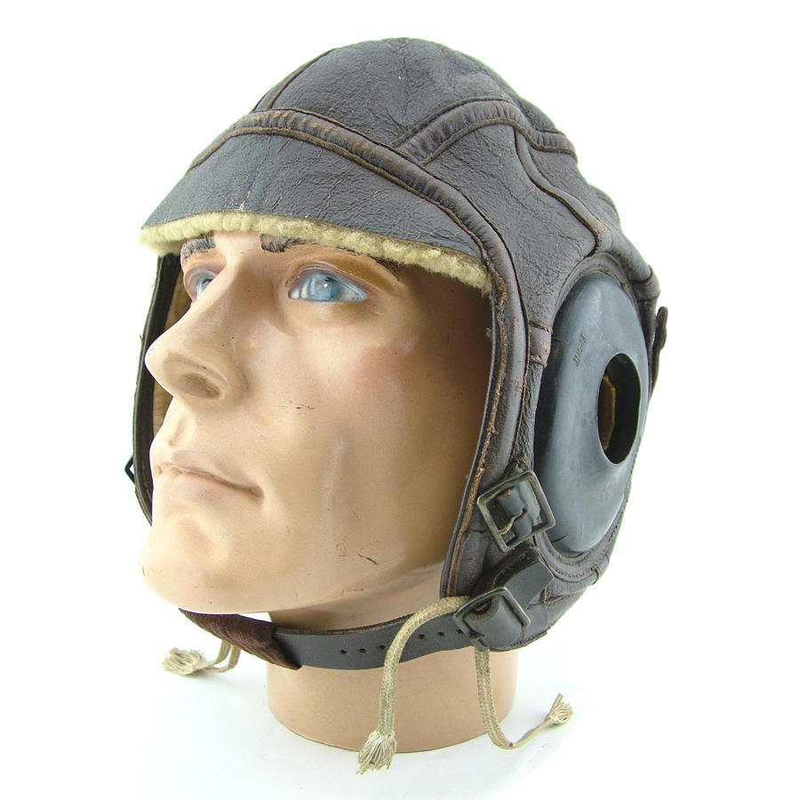 USN / USAAF AN6540-3W flying helmet