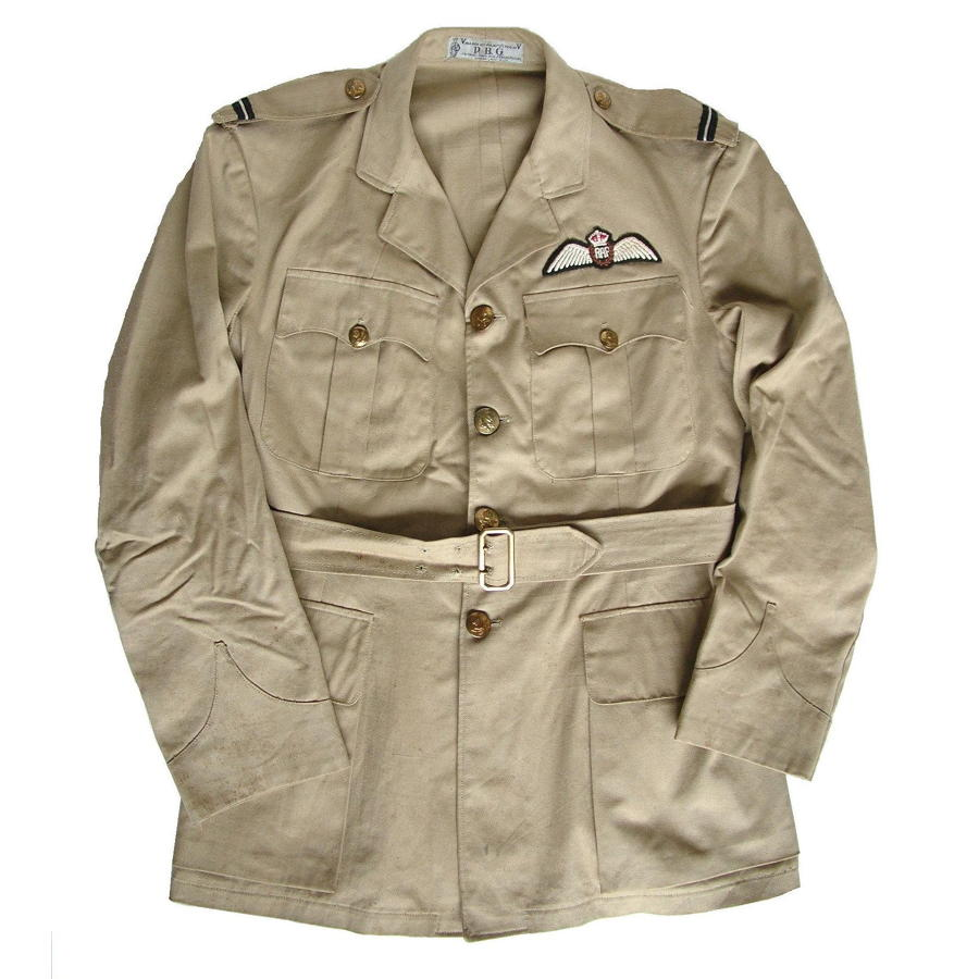 RAF pilot's tropical service dress tunic