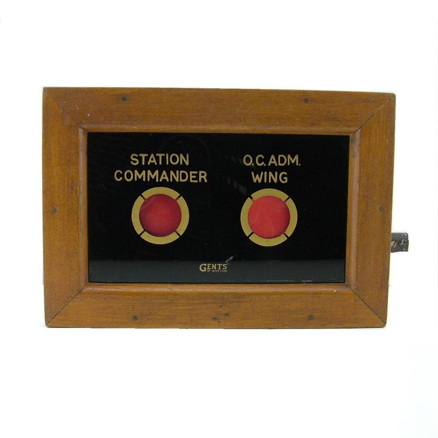 RAF / USAAF Station 'Bell' box