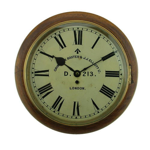 RFC / RAF type 1 fusee wall clock