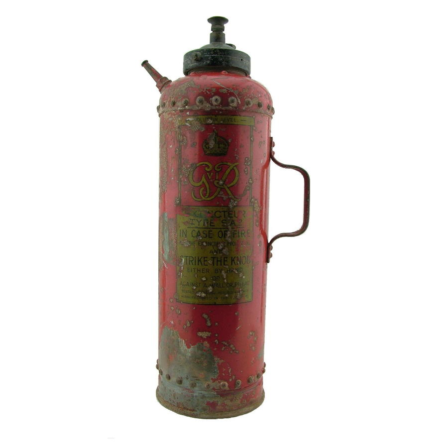 1941 dated fire extinguisher