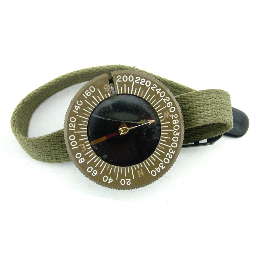 USAAF & airborne wrist compass