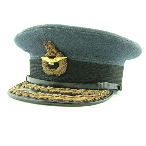RAF 'Air Rank' service dress cap