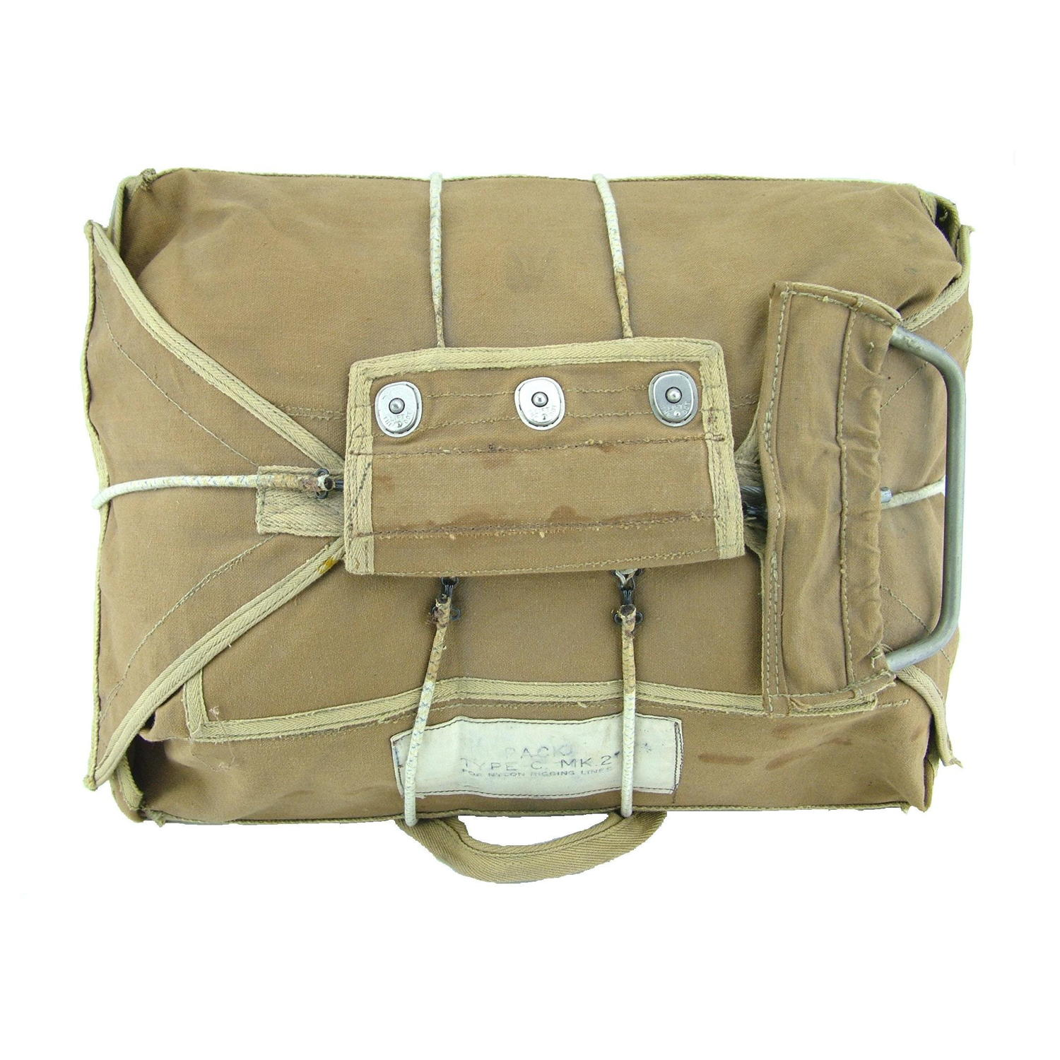 RAF Observer type  parachute pack