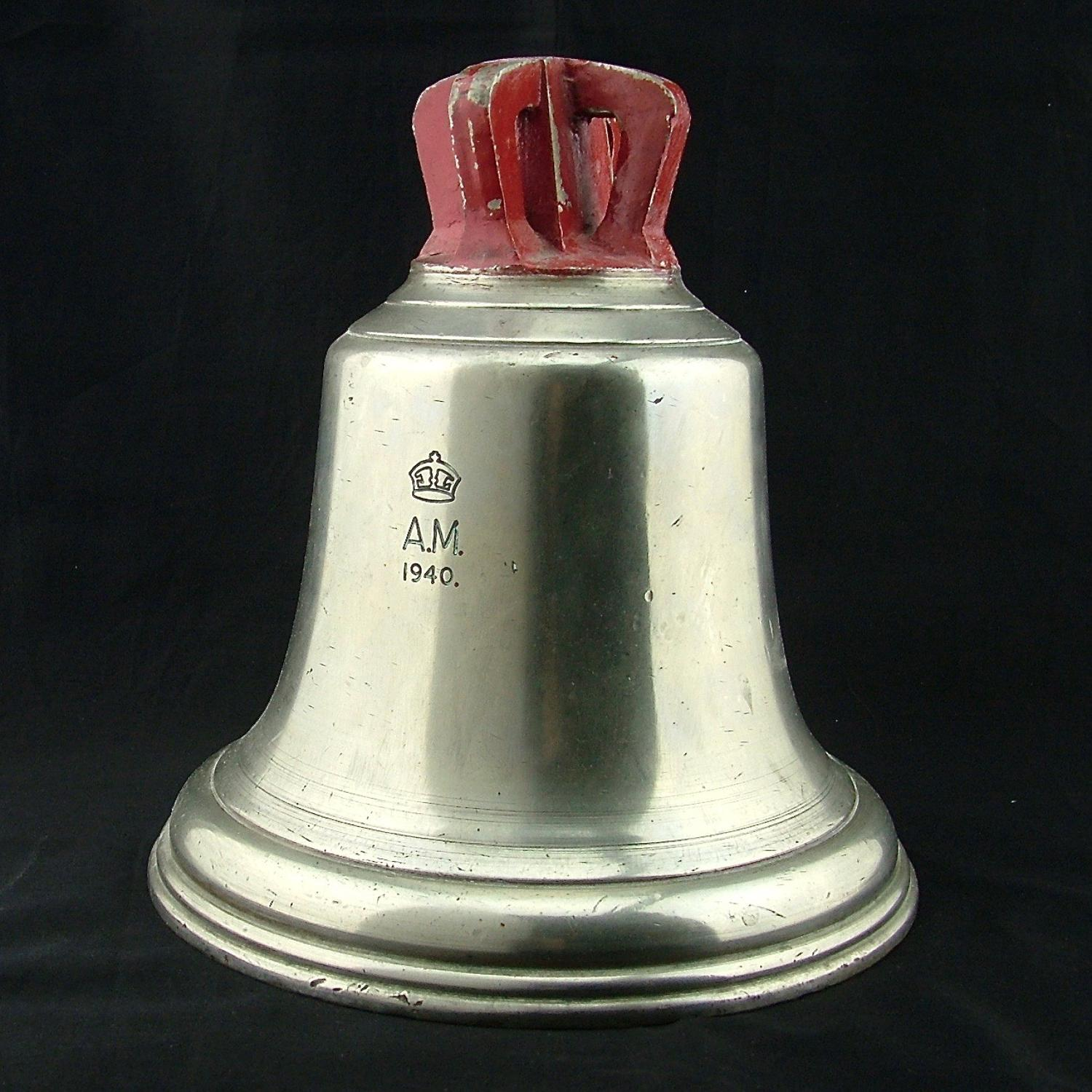 RAF station 'scramble' bell