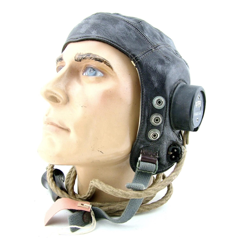 RAF C-type flying helmet, late pattern, boxed