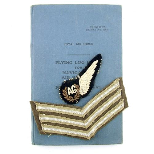 RAF Airgunner log book