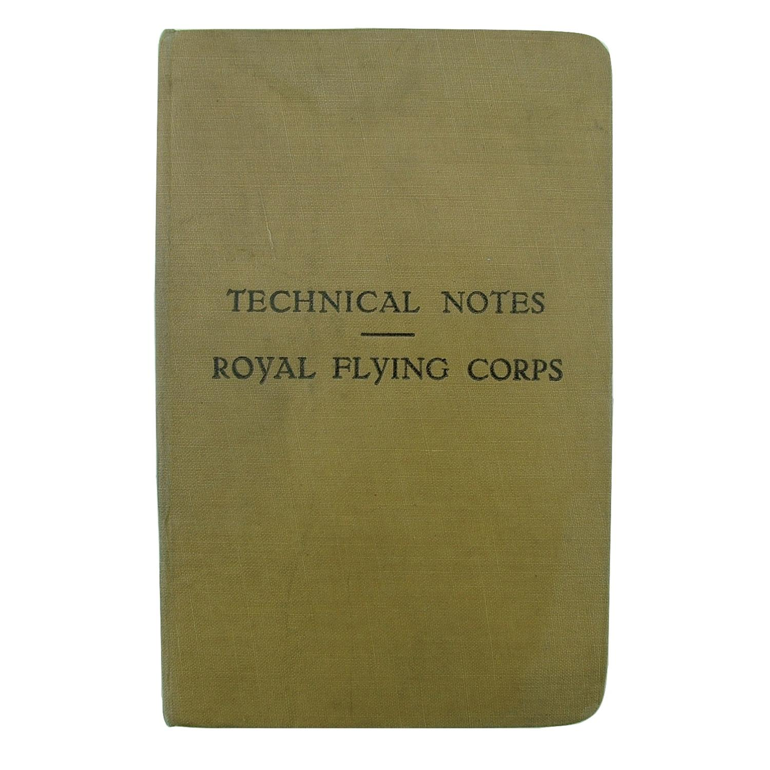 Royal Flying Corps - technical notes