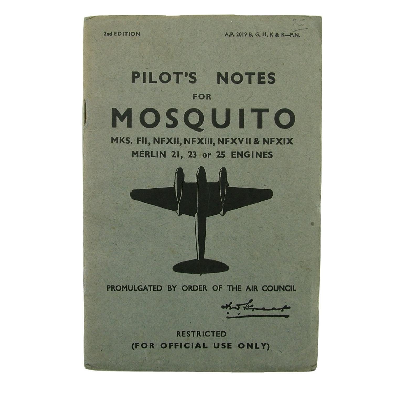 RAF pilot's notes - Mosquito
