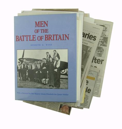 Men of the Battle of Britain & clippings