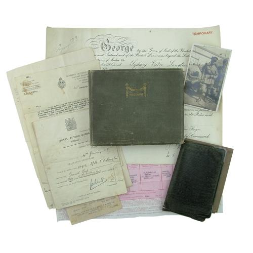 RFC photo album & ephemera