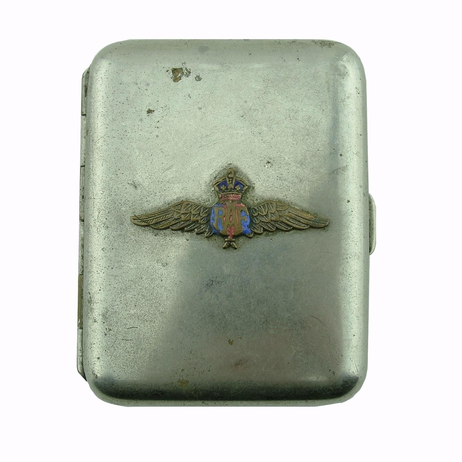 RAF cigarette case