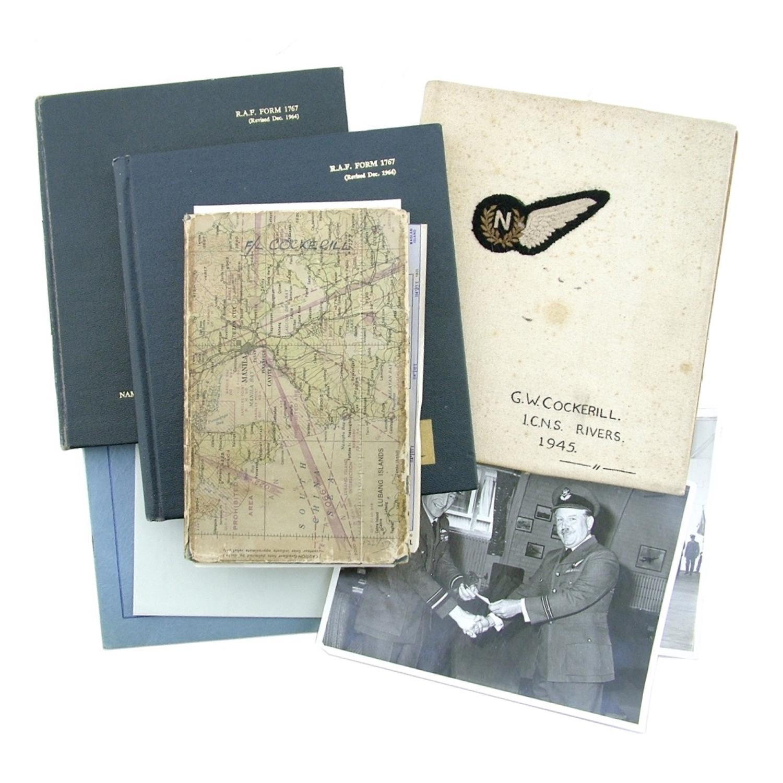 RAF Navigator's log books