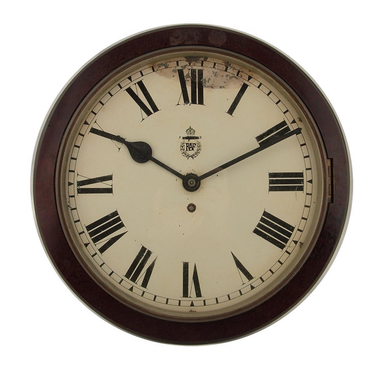 RAF station wall clock - small