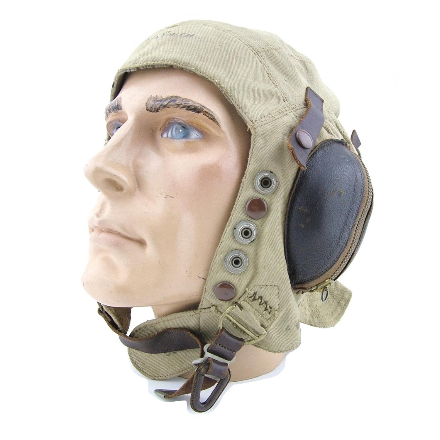 FAA N-type flying helmet - early pattern