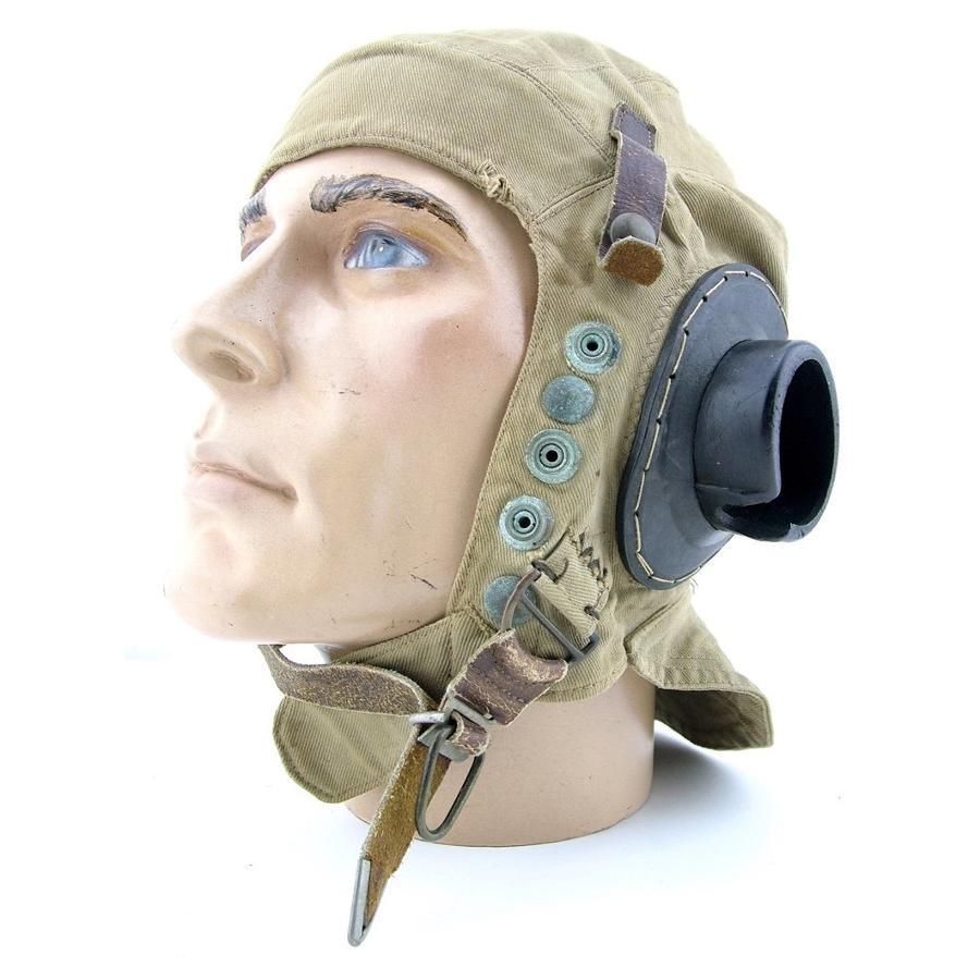 RAF D-type flying helmet - early pattern