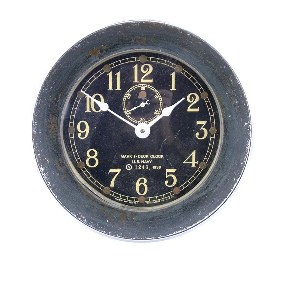 USN Deck Clock, USS South Dakota