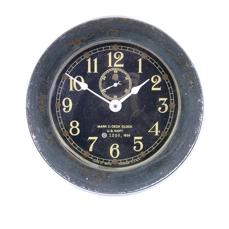 USN Deck Clock, USS South Dakota