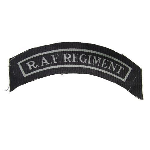 RAF Regiment shoulder title