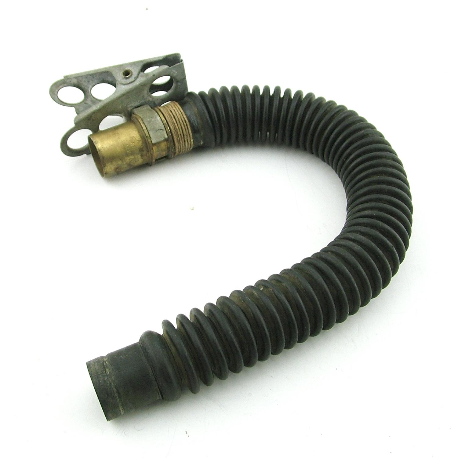RAF oxygen mask tube / connectors - early