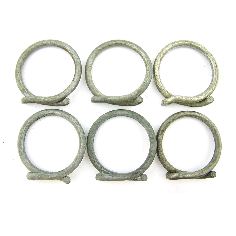 RAF E series oxygen mask hose clip